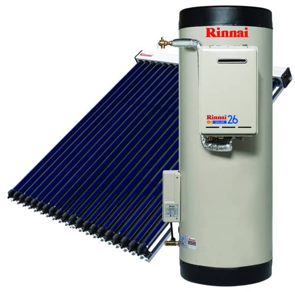 Rinnai Prestige Evacuated Tube Systems Sa Hot Water