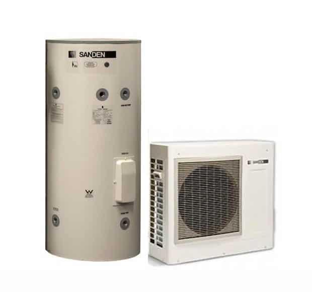 Sanden Gaus 250 Eqtb Heat Pump Sa Hot Water