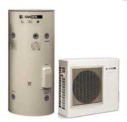 Sanden heat pump